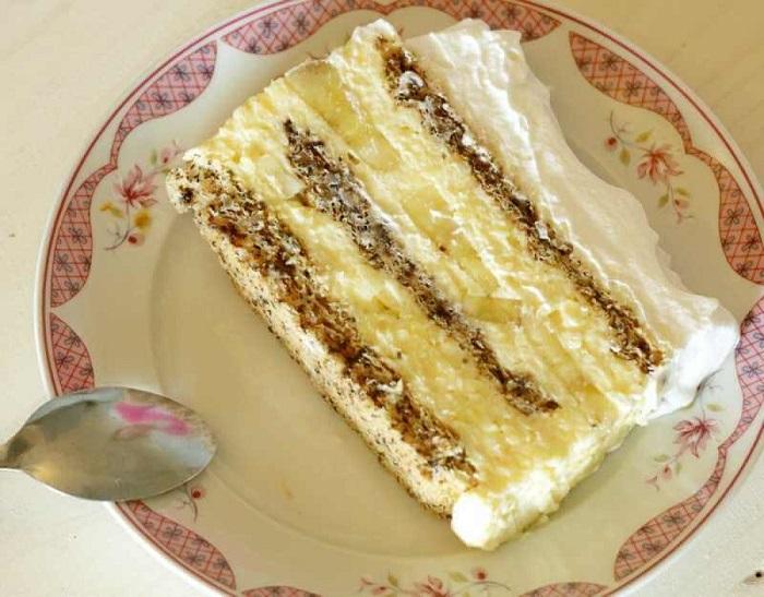 Торта со банани , ореви
