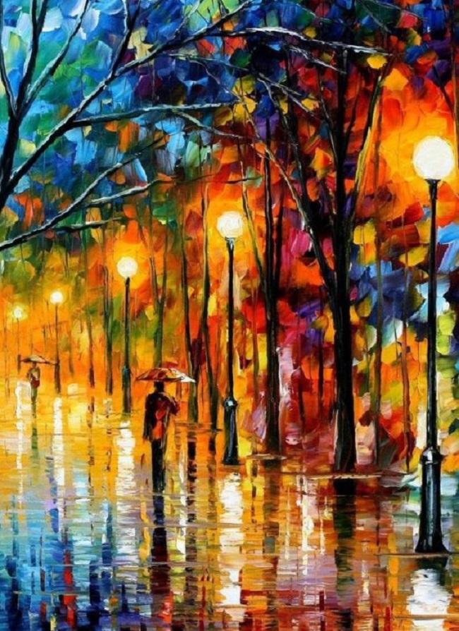Leonif Afremov- slikar