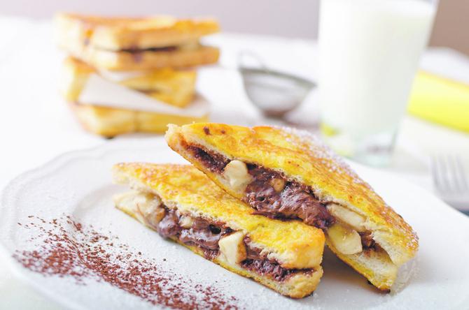 przhen-leb-banani-chokolado